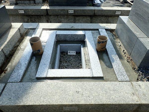 境の石・御影石納骨室・石マス