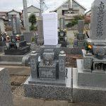 純国産墓石椿石のお墓建立