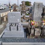 デザイン墓石の完成