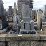 お墓リフォームと御影石納骨室工事の完了