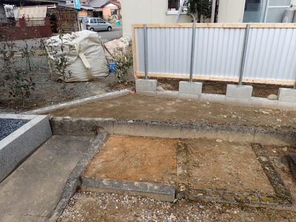 お墓の解体回収完了3