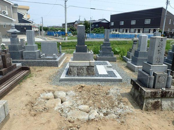 お墓の解体回収完了