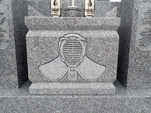 石に彫ったイラスト