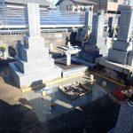 基礎コンクリートの完了