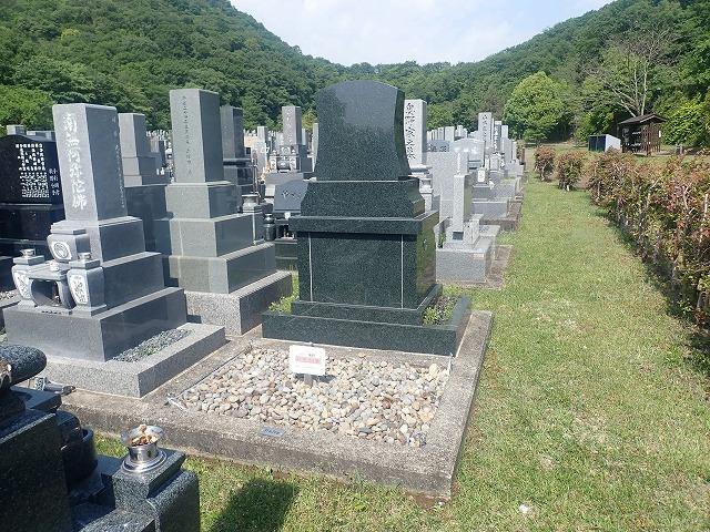 インド石のお墓完成