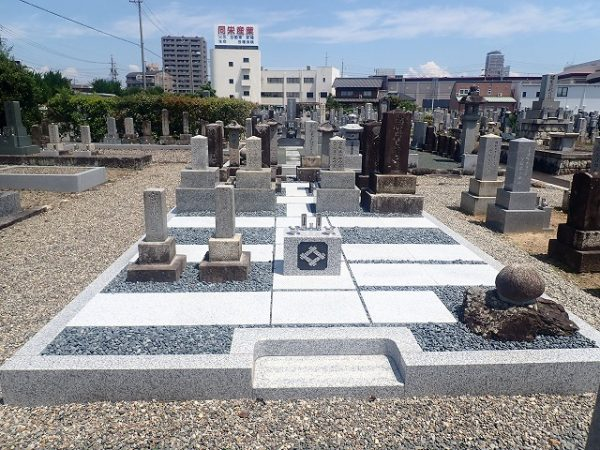前置きを置いて、お墓リフォーム工事の完了