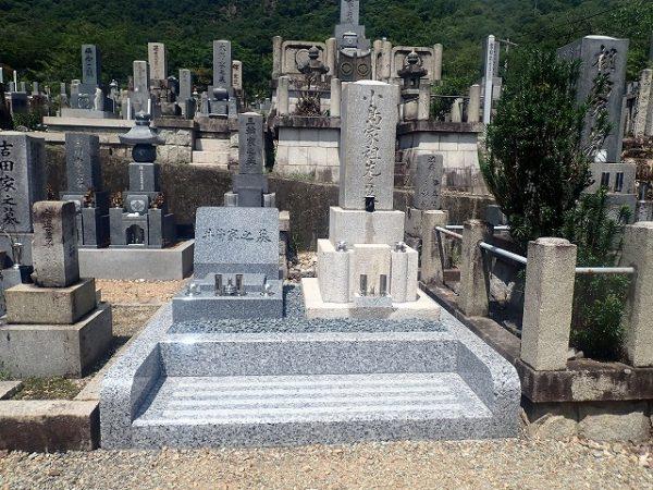 天山石のデザイン墓石