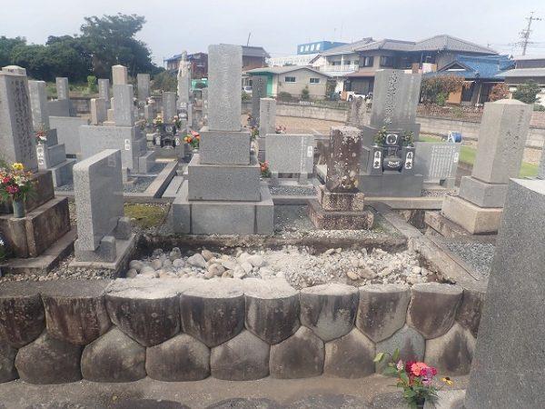お墓の解体工事完了