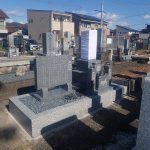 純国産天山石のお墓建立