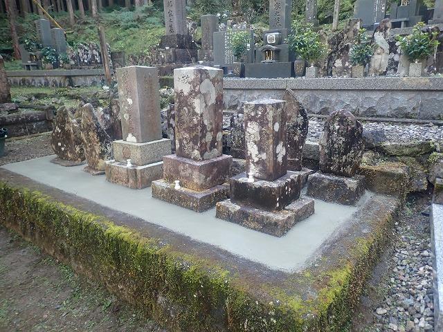 綺麗にした富之保のお墓