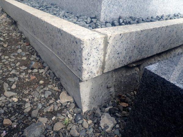 補強したコンクリート