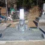 純国産天山石のお墓