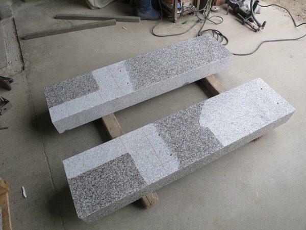 石の接着面は磨きを削ります