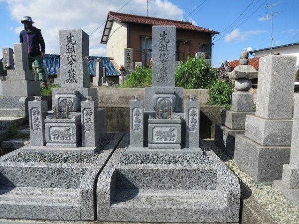 インド石のお墓