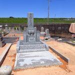 インド石のお墓建立