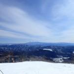 めいほうスキーから見る御嶽山