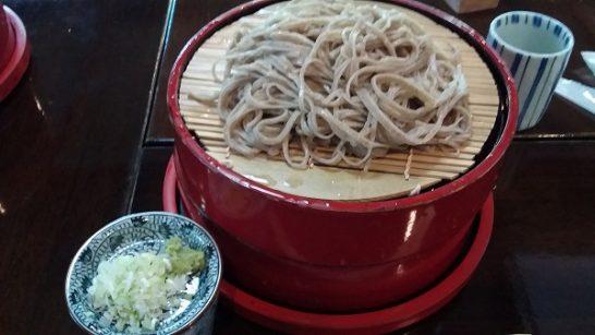 開田高原の蕎麦