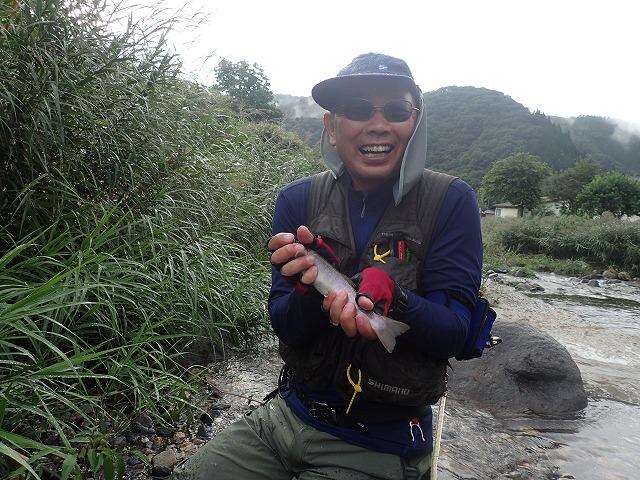 九寸サイズの岩魚