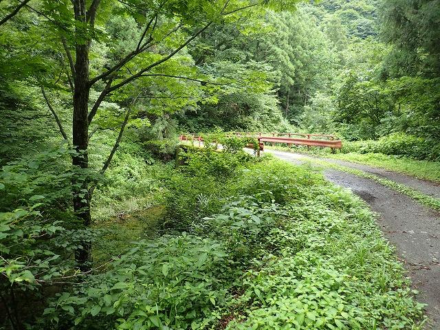 岩ノ子谷入渓