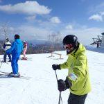 同級生とスキー